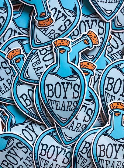 Sticker transparent BOY'S TEARS