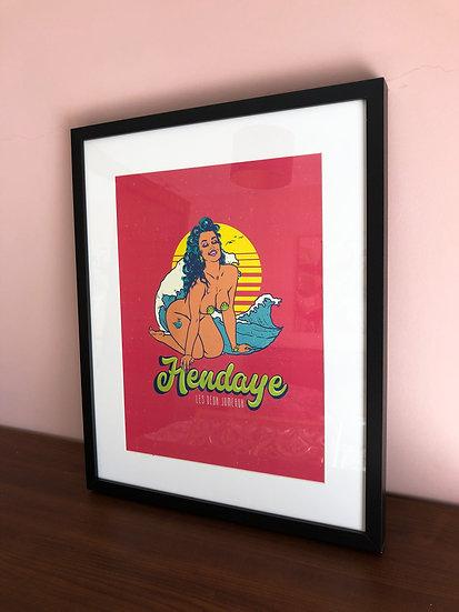 Print Hendaye