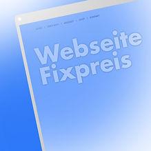 Webseite zum Fixpreis