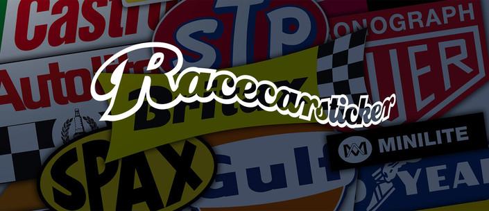Racecarsticker