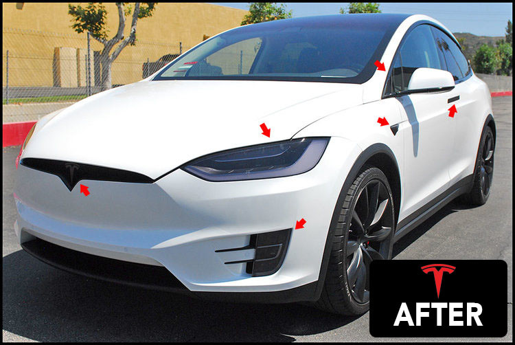 TESLA, CUSTOM TESLA, TESLA CUSTOMIZATION. TESLA MODEL X, TESLA AFTERMARKET, TESLA BLACK WHEELS, TESLA VISUALS