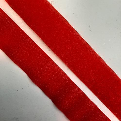 Klettverschluss 20mm, rot