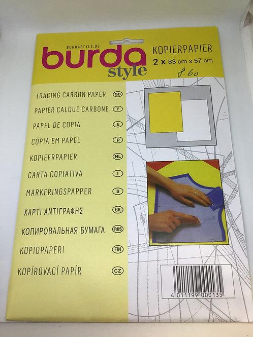 Kopierpapier weiss/gelb oder blau/rot