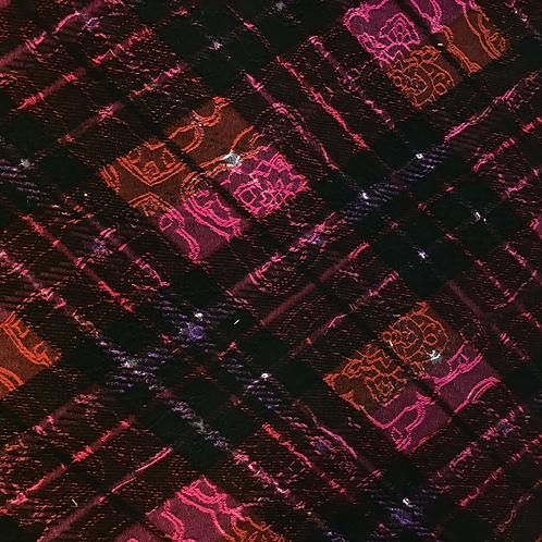 Karostoff in pink/rot