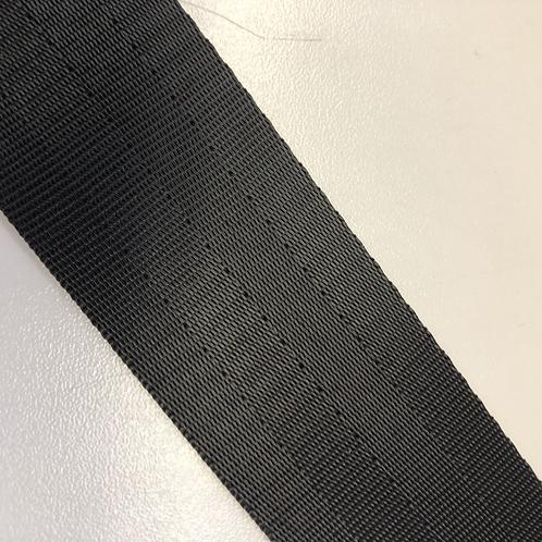 Autogurtband für Taschen 4cm schwarz