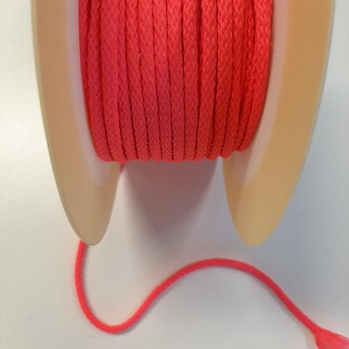 Kordel Neon gewoben Polyester 4 mm