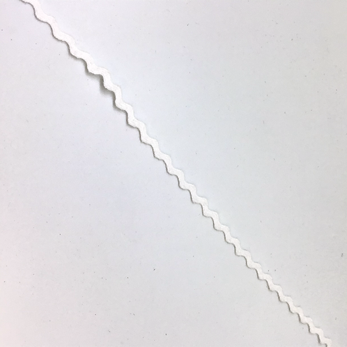 Zackenlitze Baumwolle 2mm