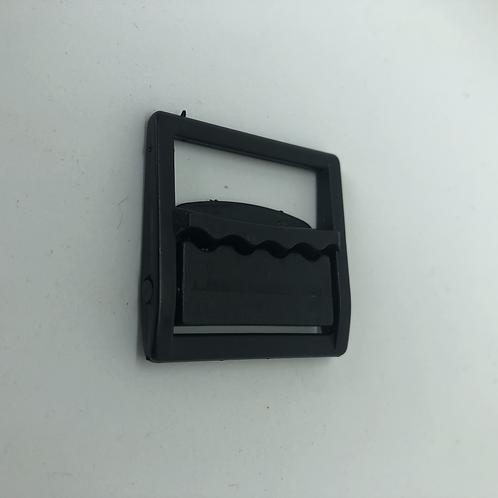 Versteller mit Klick 3.5cm schwarz
