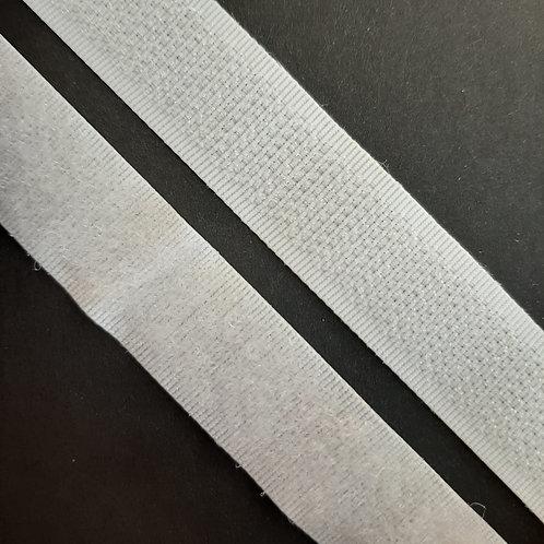 Klettverschluss Haken und Flausch 16mm schwarz und weiss
