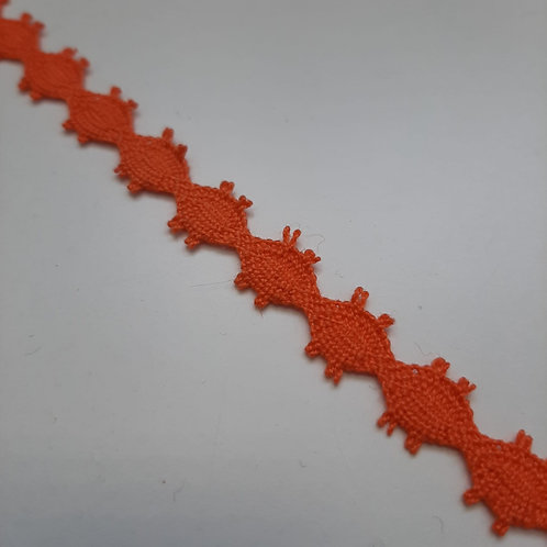 Spitzenband orange, 11mm