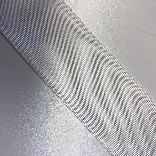 Gurtband dünn für Taschen 4cm weiss