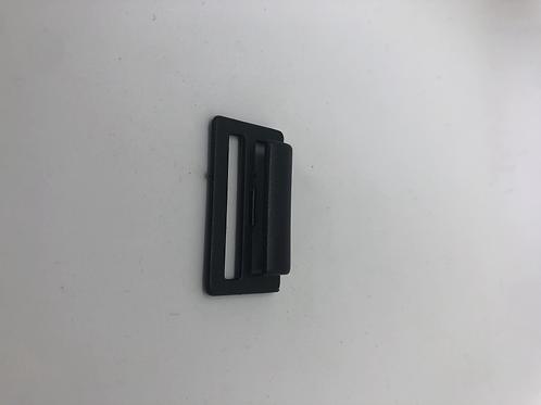 Haken Plastik 3.5cm schwarz