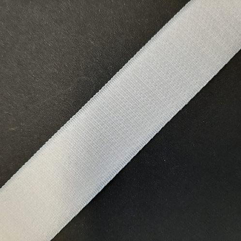 Klettverschluss selbstklebend nur Haken 20mm, schwarz, weiss, beige