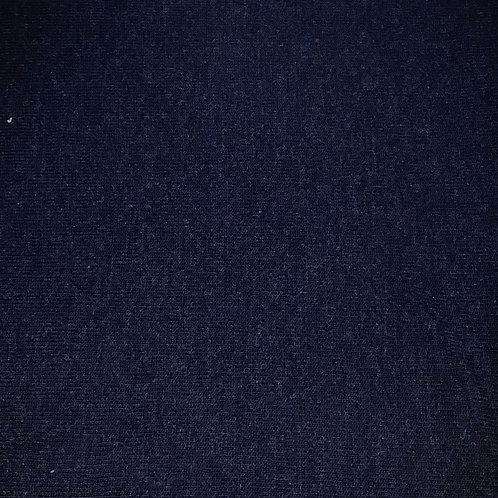 Weich fallender Viskose Feinstrick dunkelblau meliert