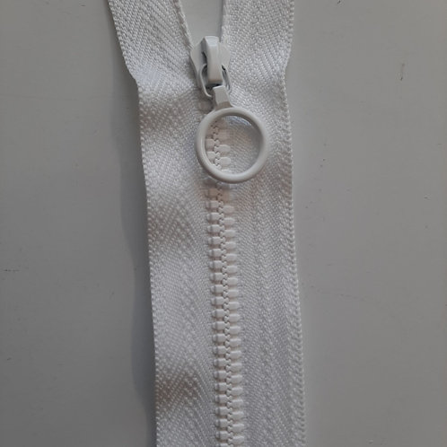 Plastik Reissverschluss teilbar 4 mm mit Ringli