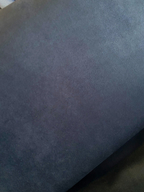 Bi - elastischer Wildlederimitat dunkelblau