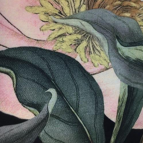 Bedruckter Tencell Stoff mit Blumenprint