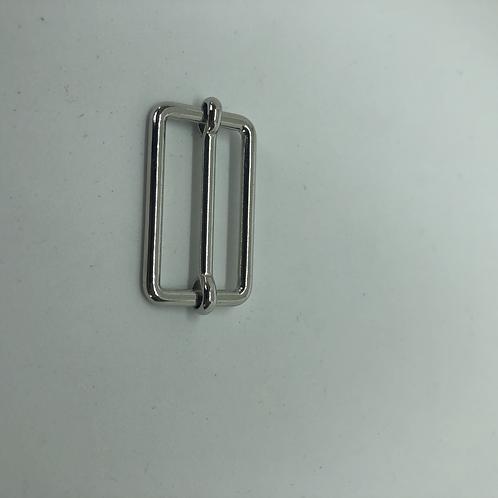 Versteller Doppelt mit verschiebbarem Querbalken Metall 3cm in silber