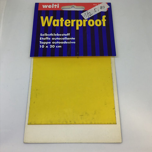 Waterproof, Selbstklebestoff Nylon gelb
