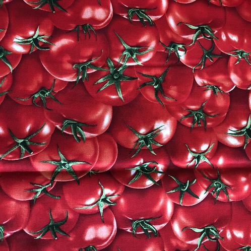 Baumwollstoff bedruckt Timeless Tomaten