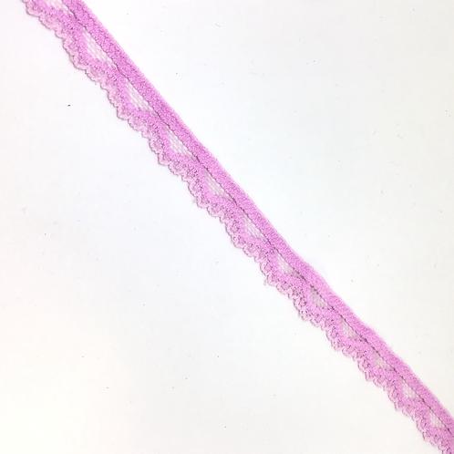 Elastische Spitze hellrosa, 10mm