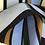 Thumbnail: Weich fallender Viskose Stoff mit Streifen in frischen Farben