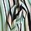 Thumbnail: Weich fallender Tencelstoff in Streifenoptik
