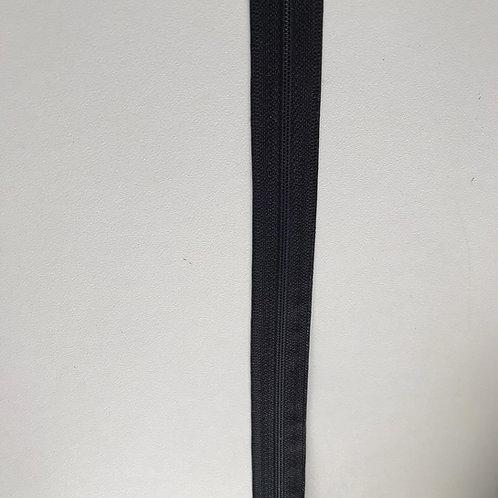Reissverschluss am Meter 6mm weiss und schwarz