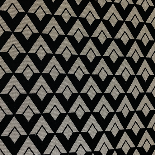 Bedruckter Stoff in Viskose/Polyamid mit Elasthan