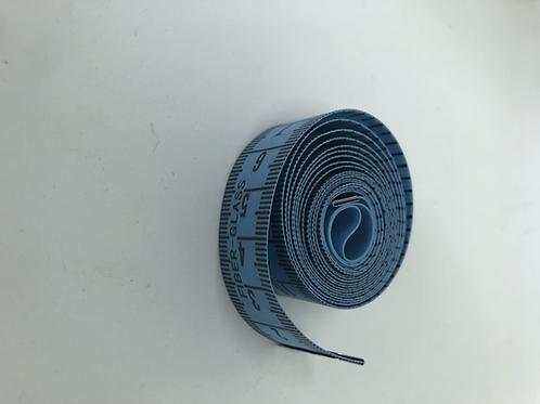 Centimeter in blau