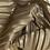 Thumbnail: Plisseestoff metallicgold