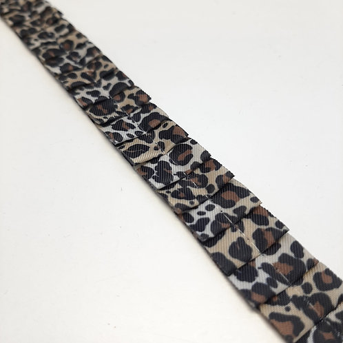 Baumwolldekoband in Falten gelegt 15mm