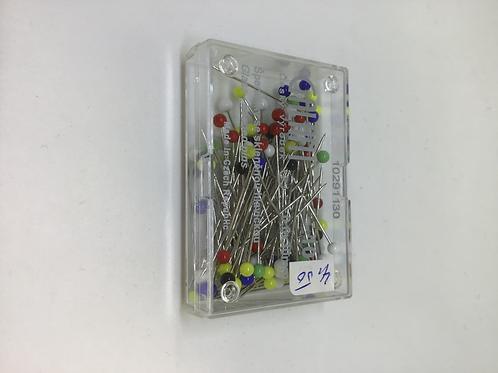 Stecknadeln mit Glaskopf 0.6x30mm