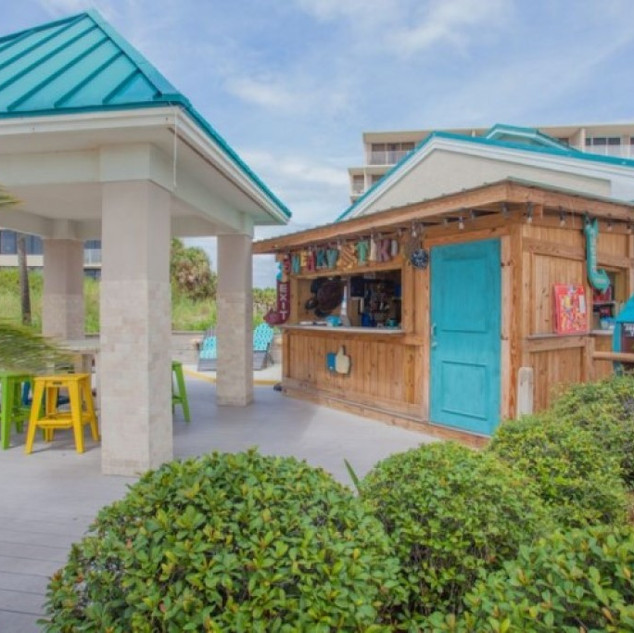 Tiki Hut / Snack Bar at A Pool