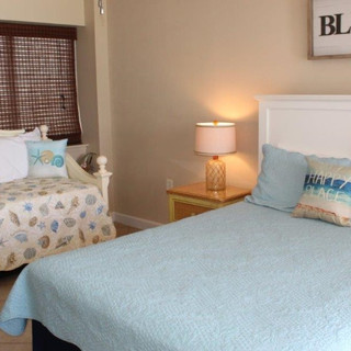 3rd Bedroom with Queen, Daybed and Trundle