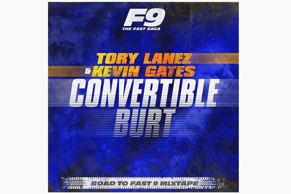 Tory Lanez & Kevin Gates - Convertible Burt Cover Art
