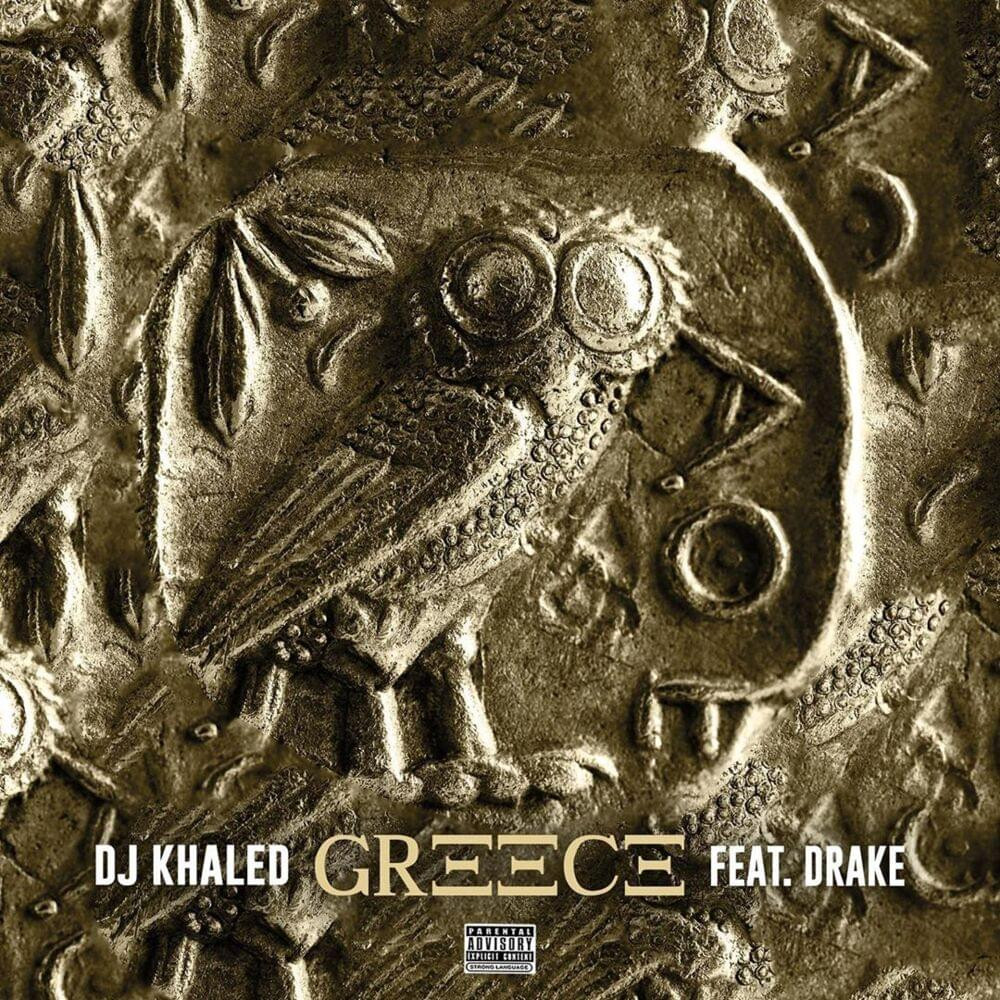 Cover art for Drake and DJ Khaled's song Greece