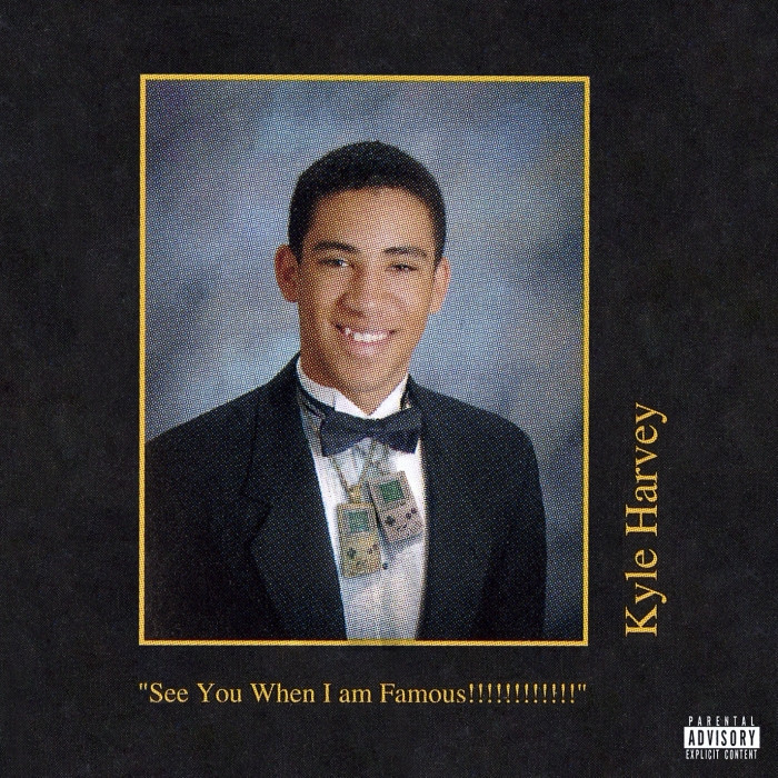 Cover Art for Kyle's album See You When I'm Famous!!!!!!!!!!