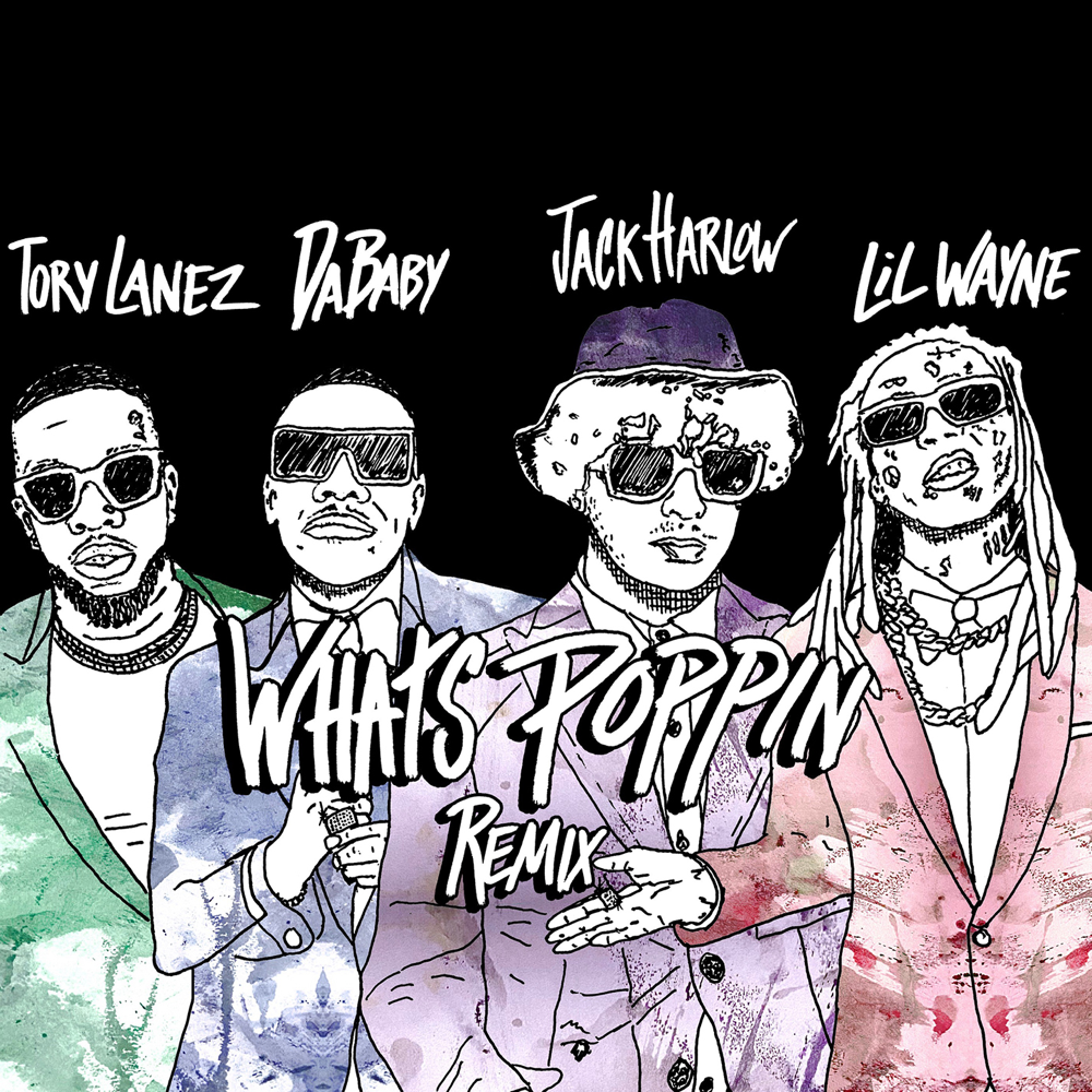 Whats Poppin Remix Cover Art
