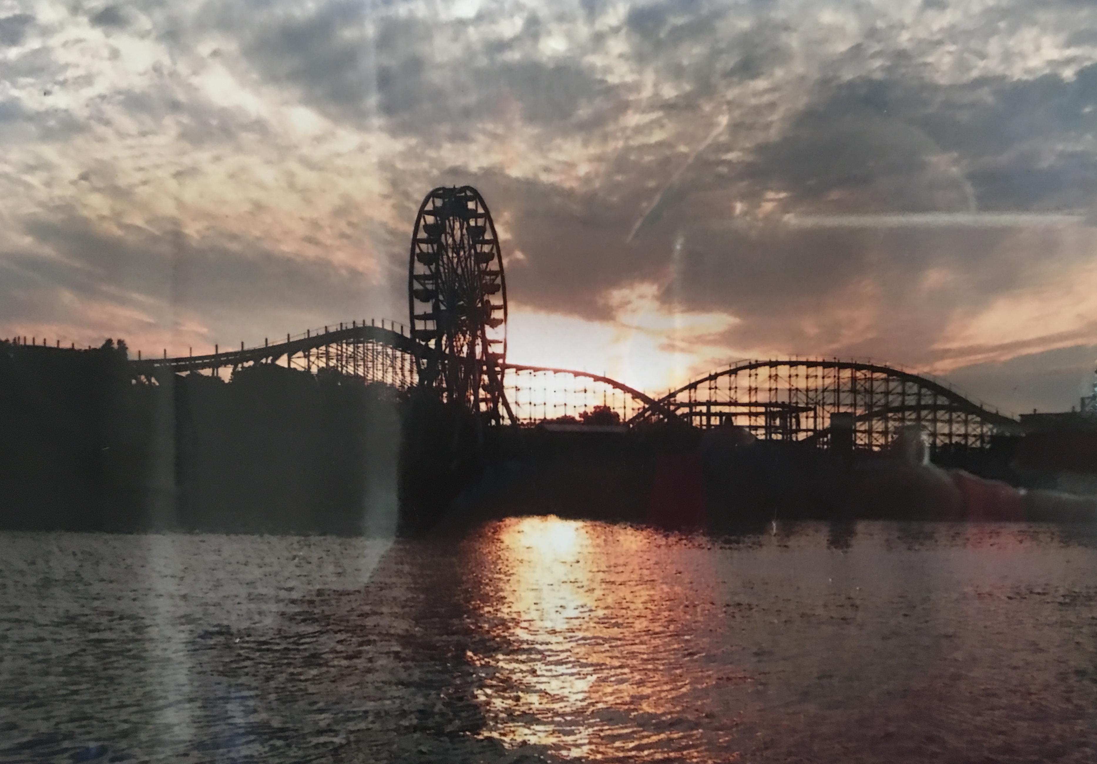 SunsetIndianaBeach