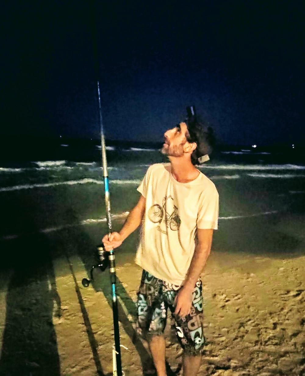 Fishing at night alt