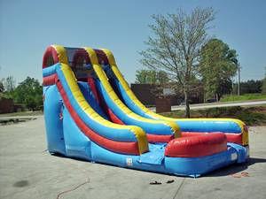 18ft splish splash slide
