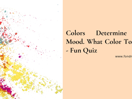 Do you know the color you wear determines your mood. Checkout the best colors to wear