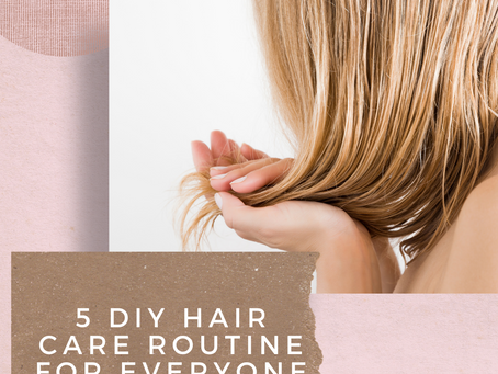 5 Hair Care Routine even a busy working woman can follow for a healthy and shiny hair