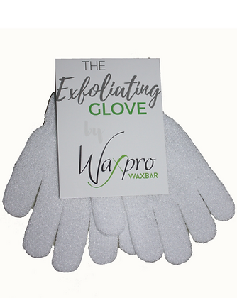 WaxPro WaxBar Exfoliating Gloves