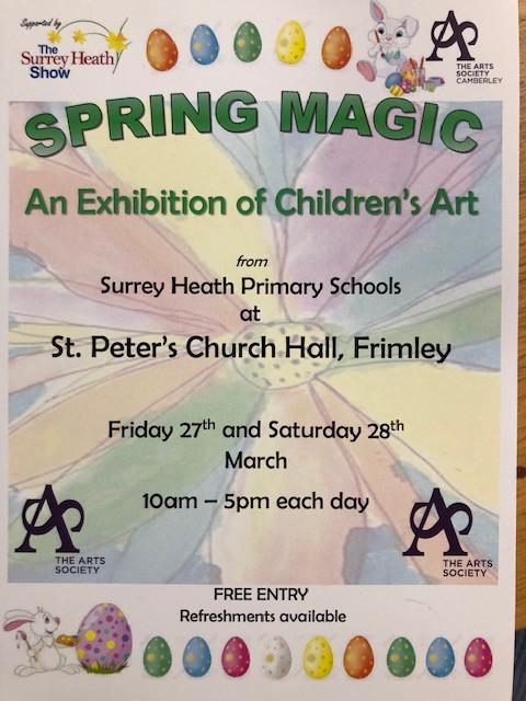 Spring Magic Art Exhibition!