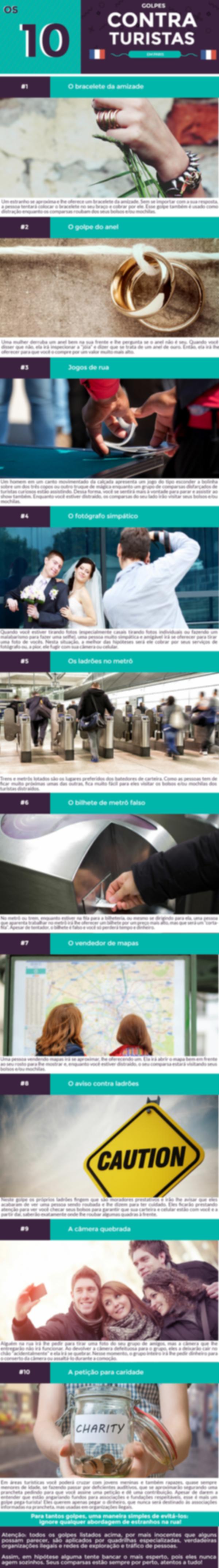 Infográfico Segurança Paris pra Mim
