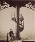 Gustave no topo de sua Torre em 1889