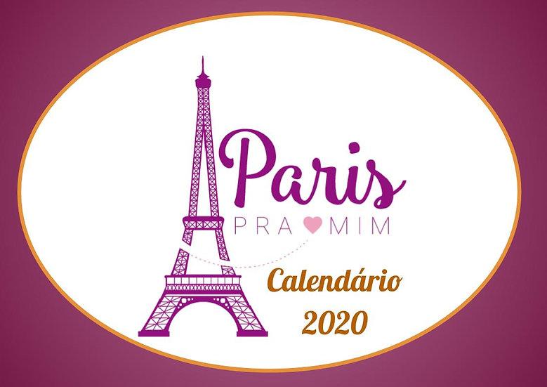 Calendário 2020 - Português/Paisagem