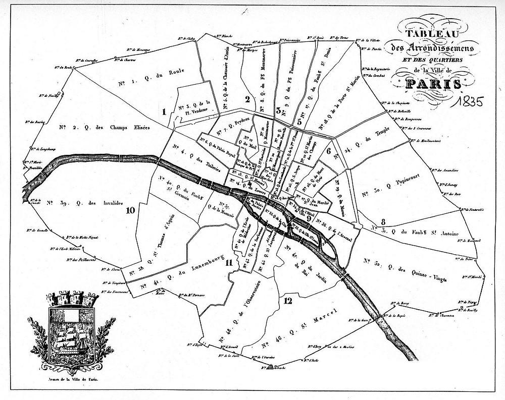 mapa-antigo-paris